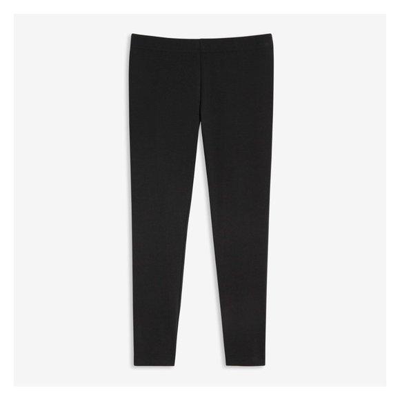 Basic Black Leggings-Full Length